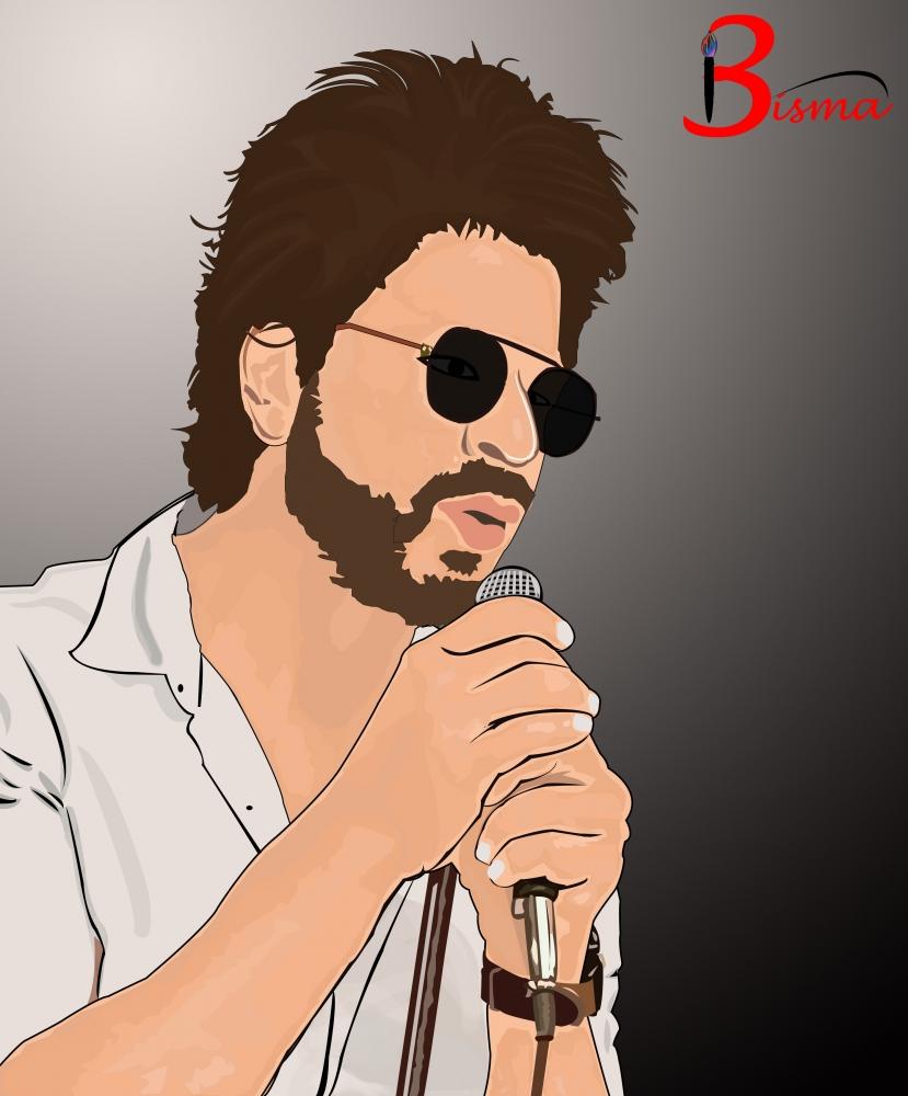 Shahrukh Khan by ArtByBisma